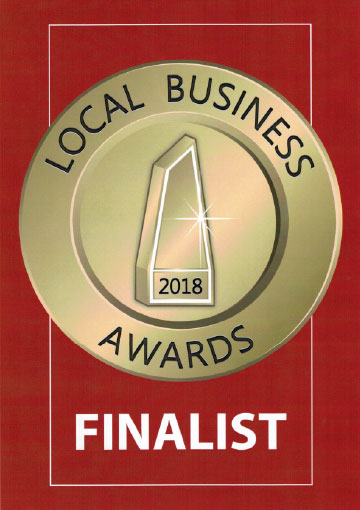 local business award 2018 finalist