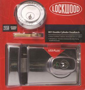 Lockwood Deadlock Supply & Install $220
